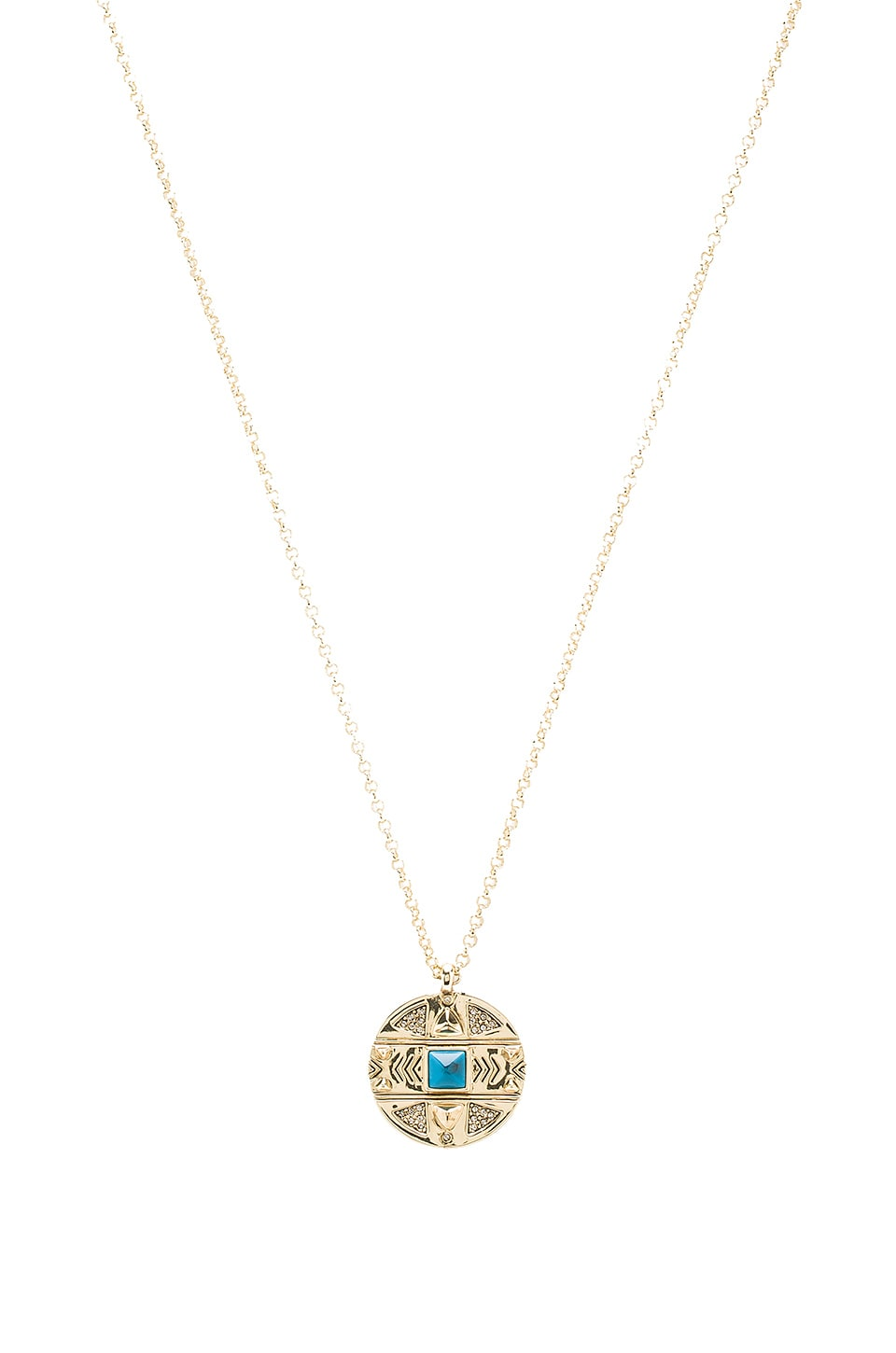 House of Harlow 1960 House of Harlow Maricopa Coin Pendant Necklace in Gold