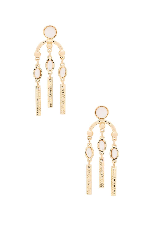 Desert Oasis Drop Earrings by House of Harlow 1960