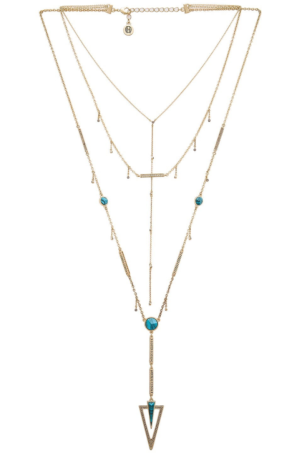 House of Harlow South Point Layered Necklace