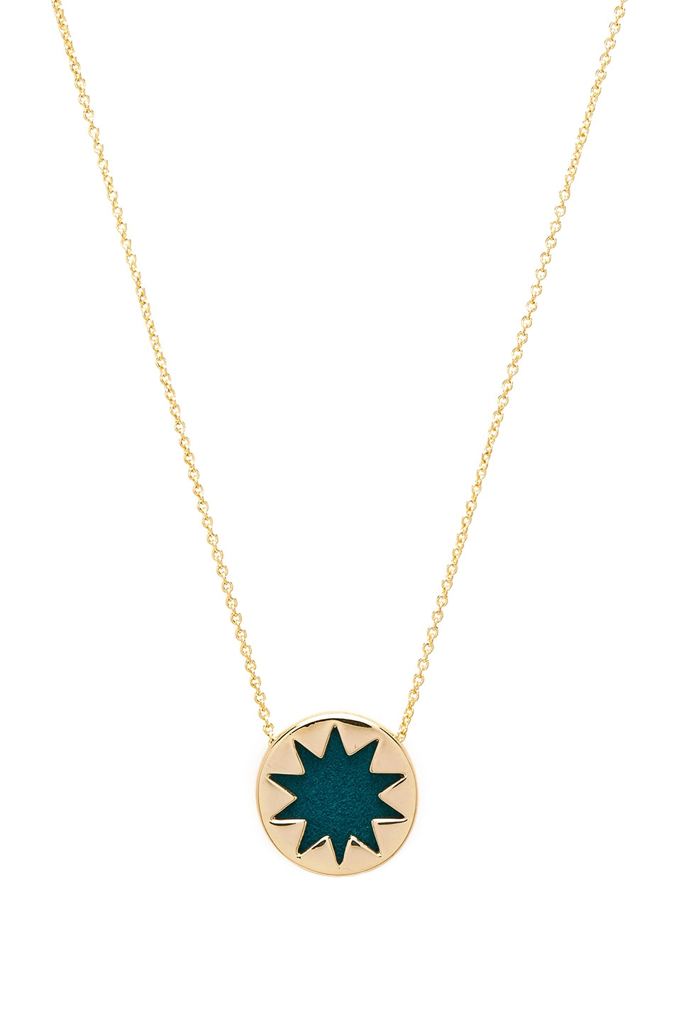 House of Harlow Mini Starburst Pendant Necklace by House of Harlow 1960