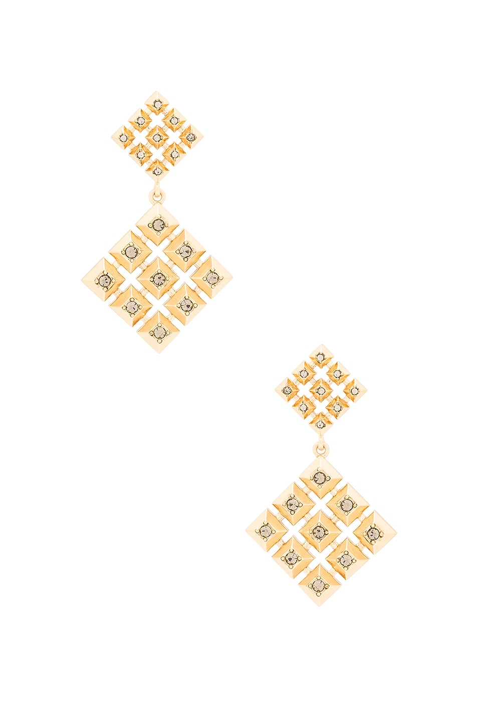 House of Harlow 1960 The Lyra Statement Earrings in Gold