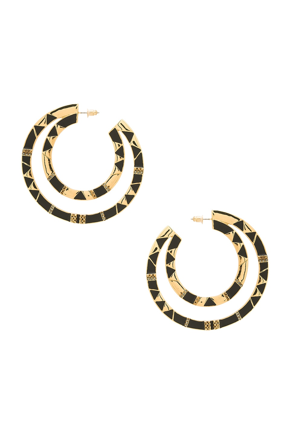 Nelli Large Hoop Earring by House of Harlow 1960