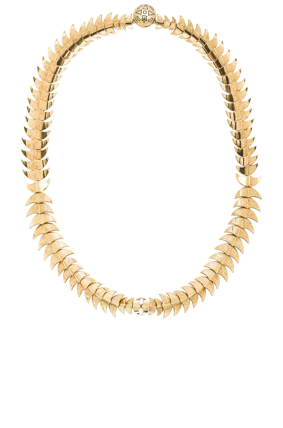 House of Harlow 1960 Dorado Link Necklace in Gold
