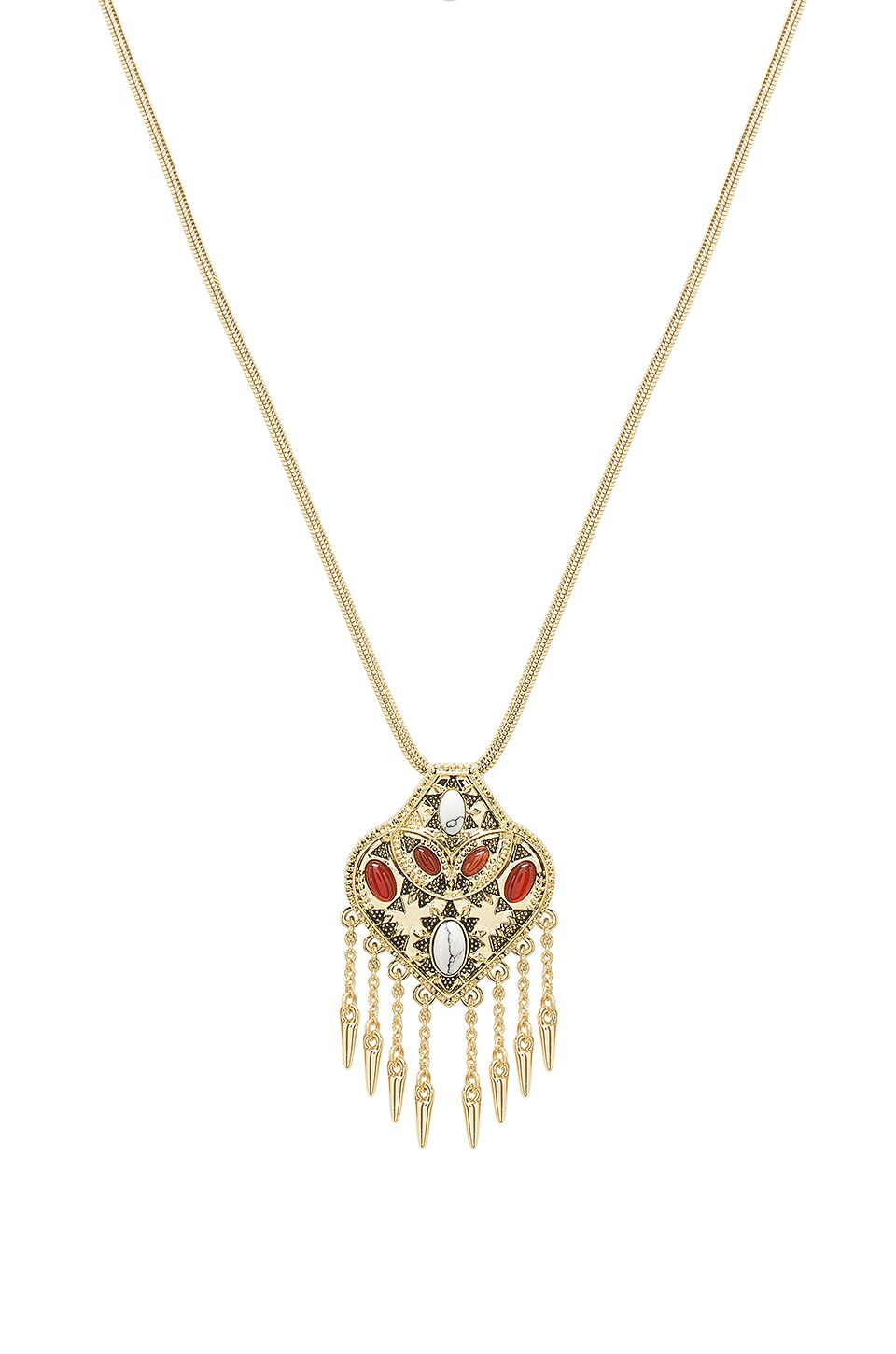Montezuma Small Pendant Necklace by House Of Harlow 1960