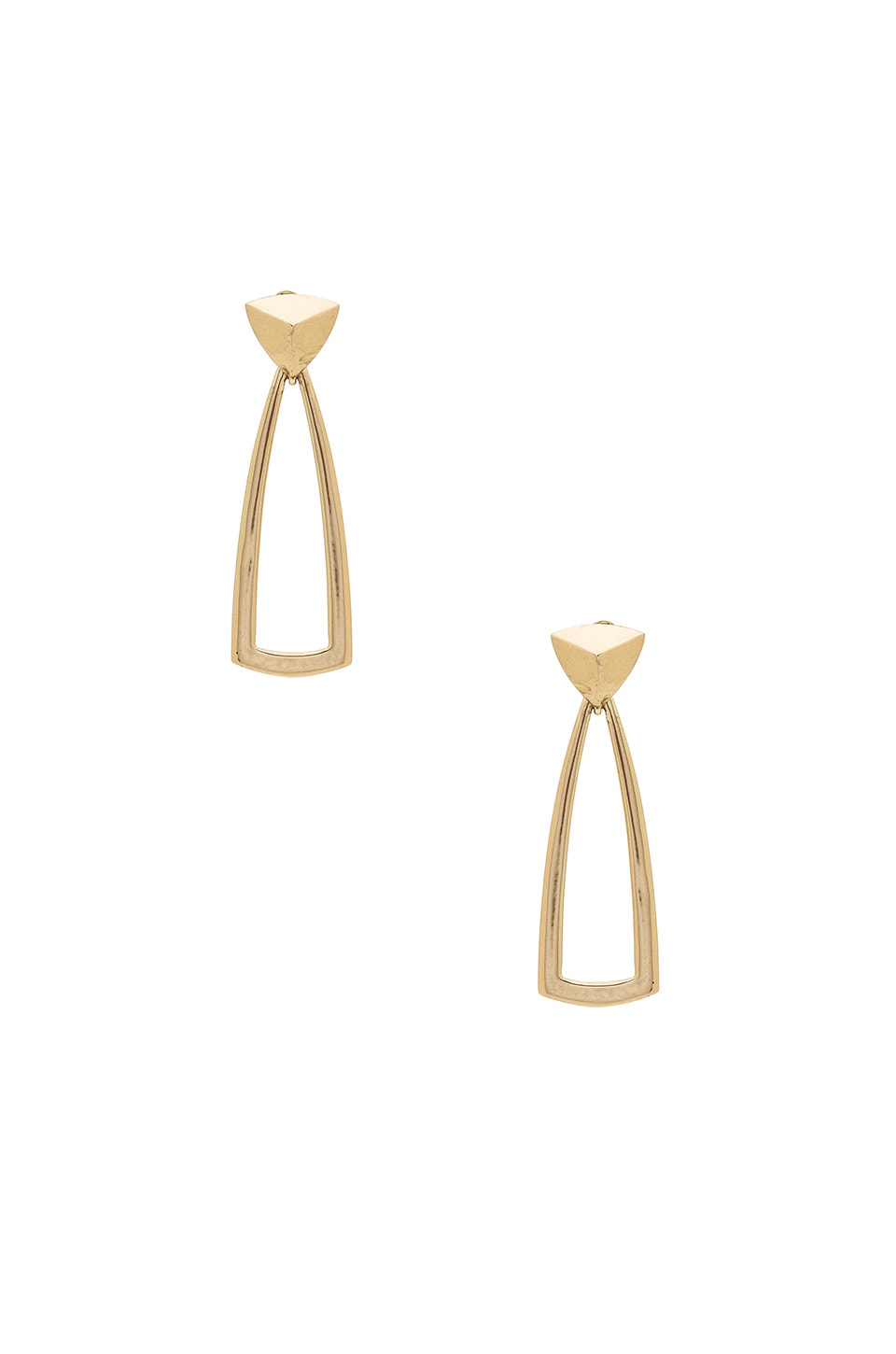 House of Harlow 1960 Mesa Door Knocker Earrings in Gold
