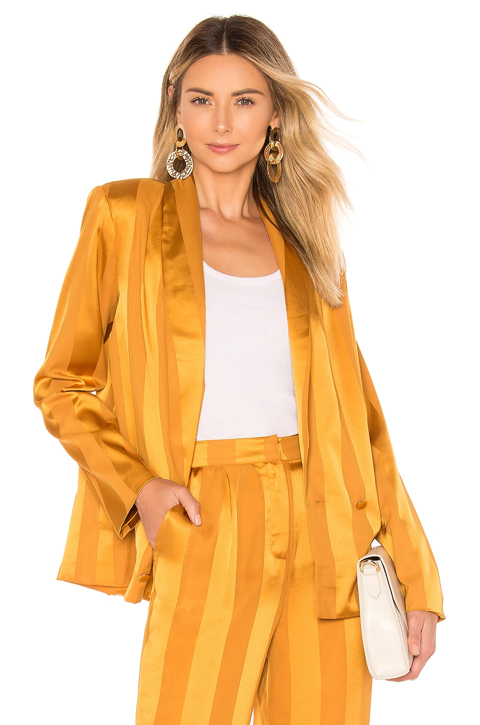 House of Harlow 1960 X REVOLVE Mira Jacket in Inca Gold