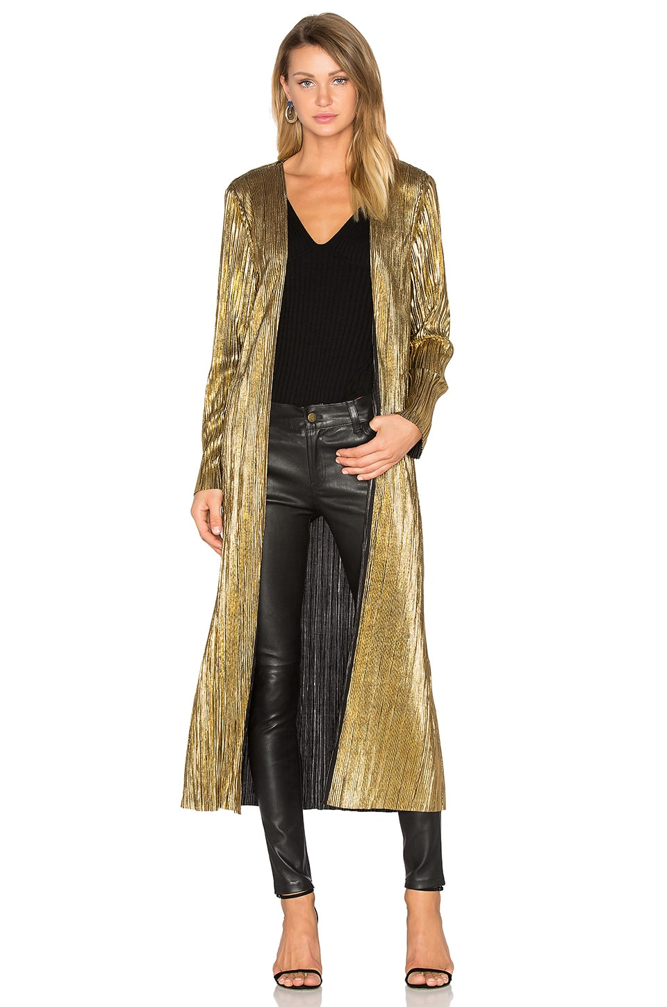 House of Harlow 1960 x REVOLVE Jodie Jacket in Gold | REVOLVE