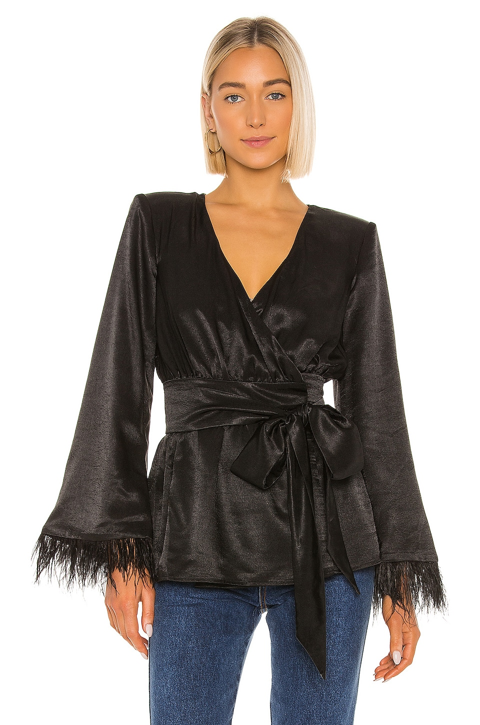 House of Harlow 1960 x REVOLVE Viviana Jacket in Noir