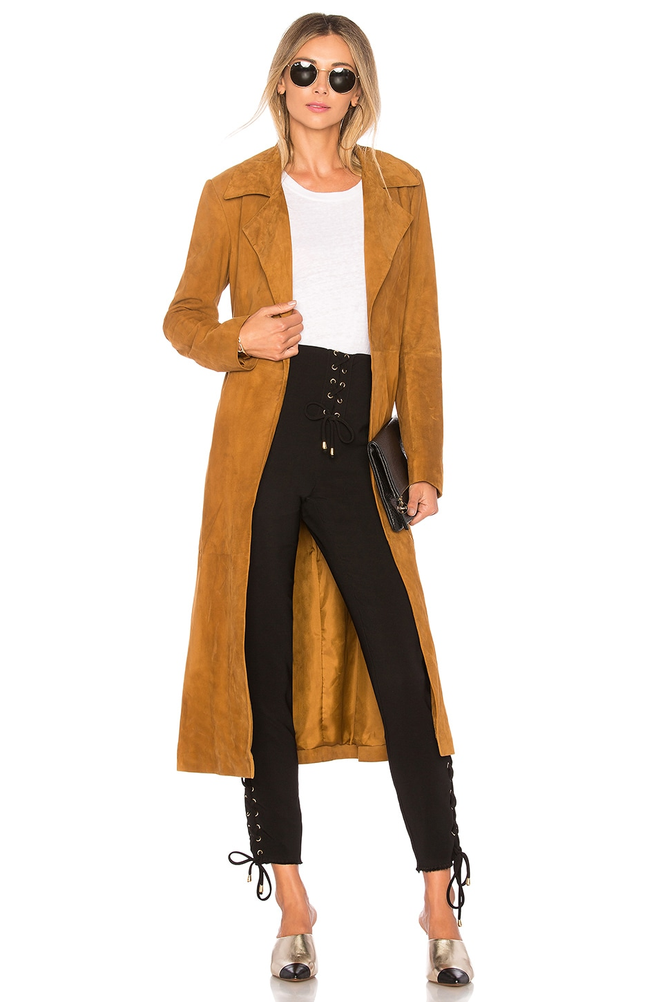 House of Harlow 1960 TRENCH RYDER