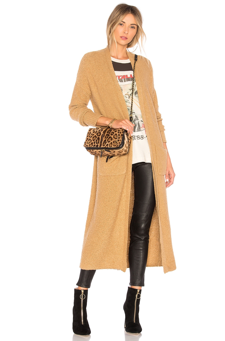House of Harlow 1960 x REVOLVE Nico Duster in Camel