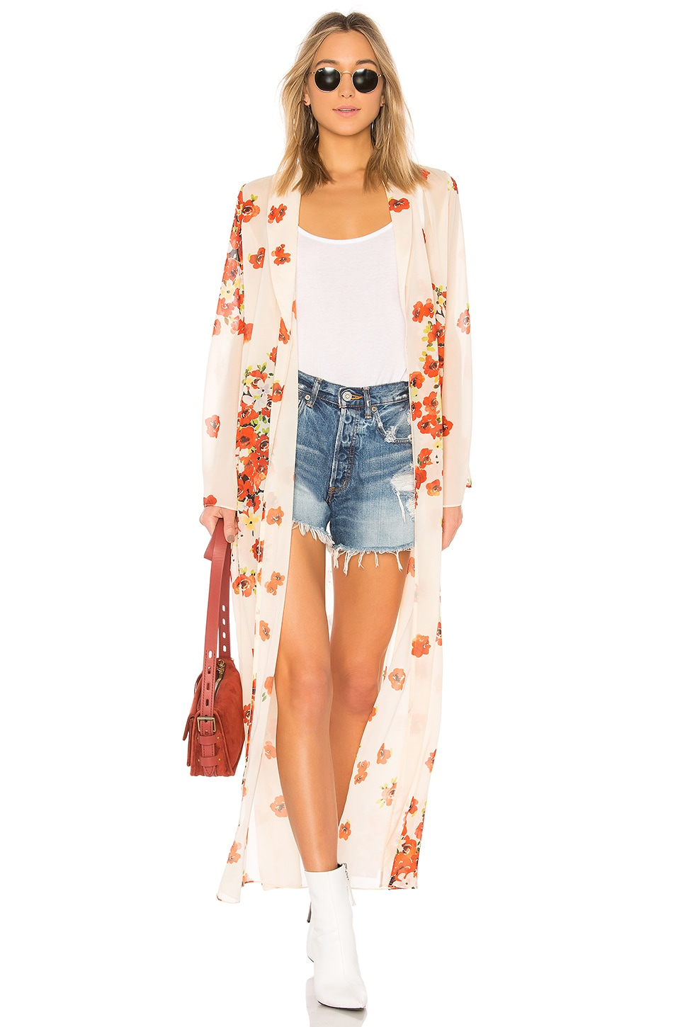 House of Harlow 1960 x REVOLVE Ruby Jacket in Poppy Floral
