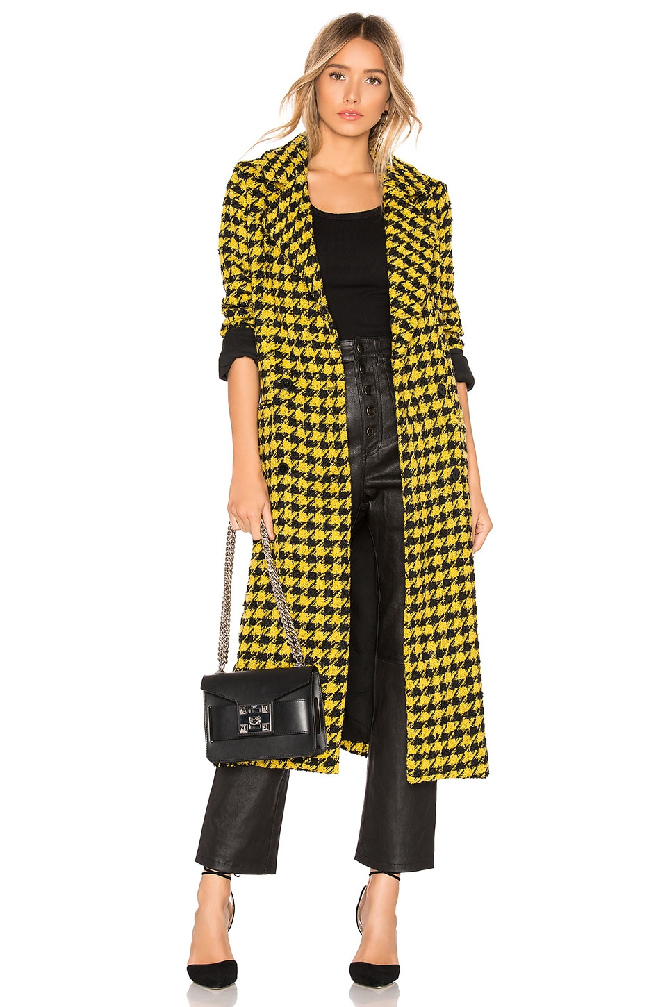 House of Harlow 1960 MANTEAU PERRY