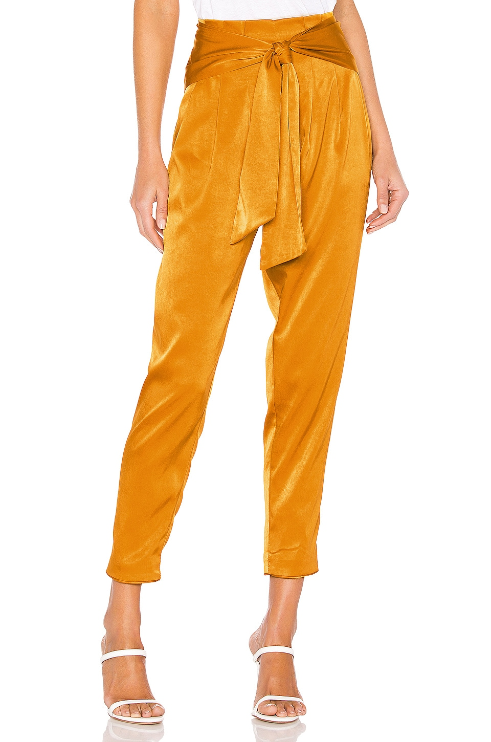 House of Harlow 1960 X REVOLVE Leland Pant in Gold
