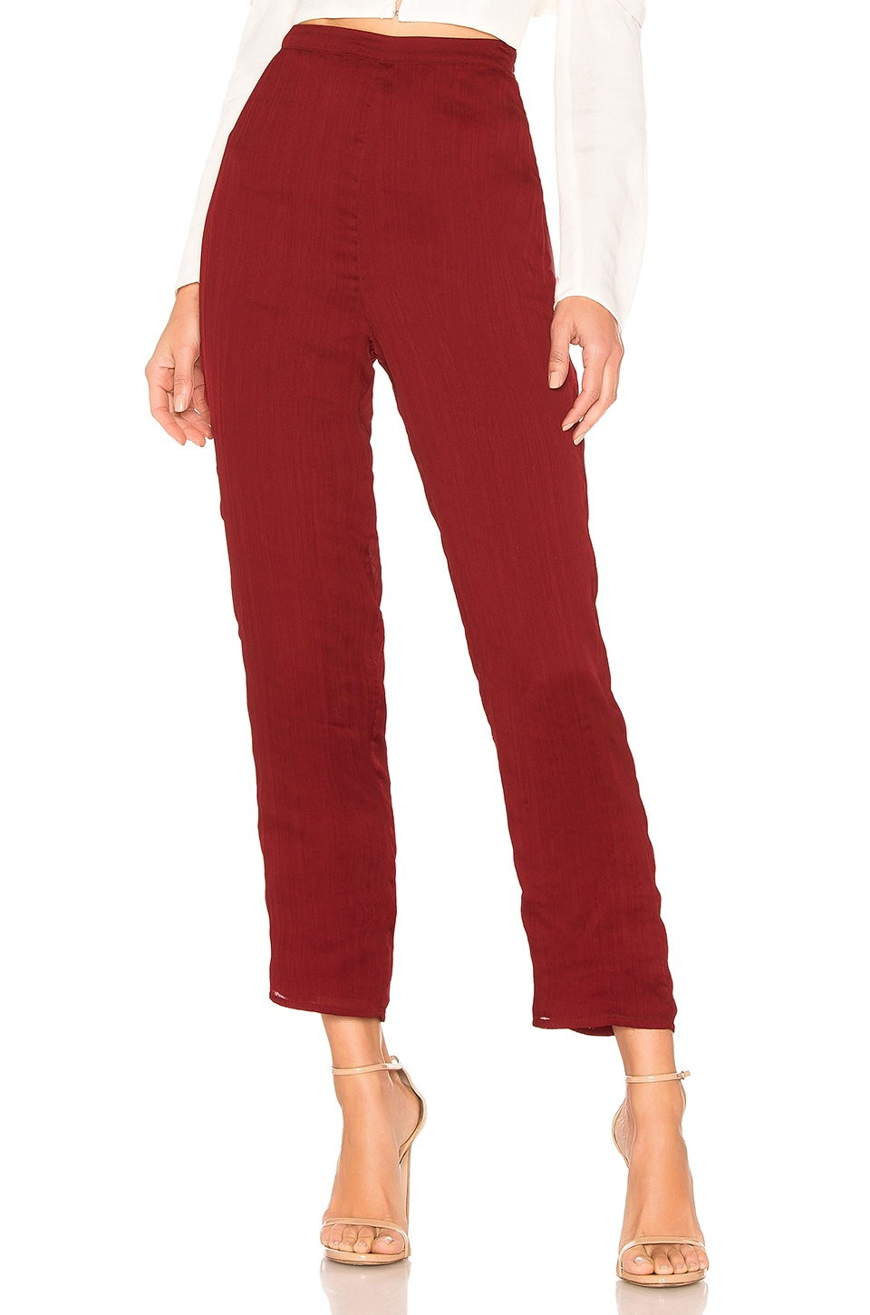 House of Harlow 1960 X REVOLVE Kate Pant in Crimson Red