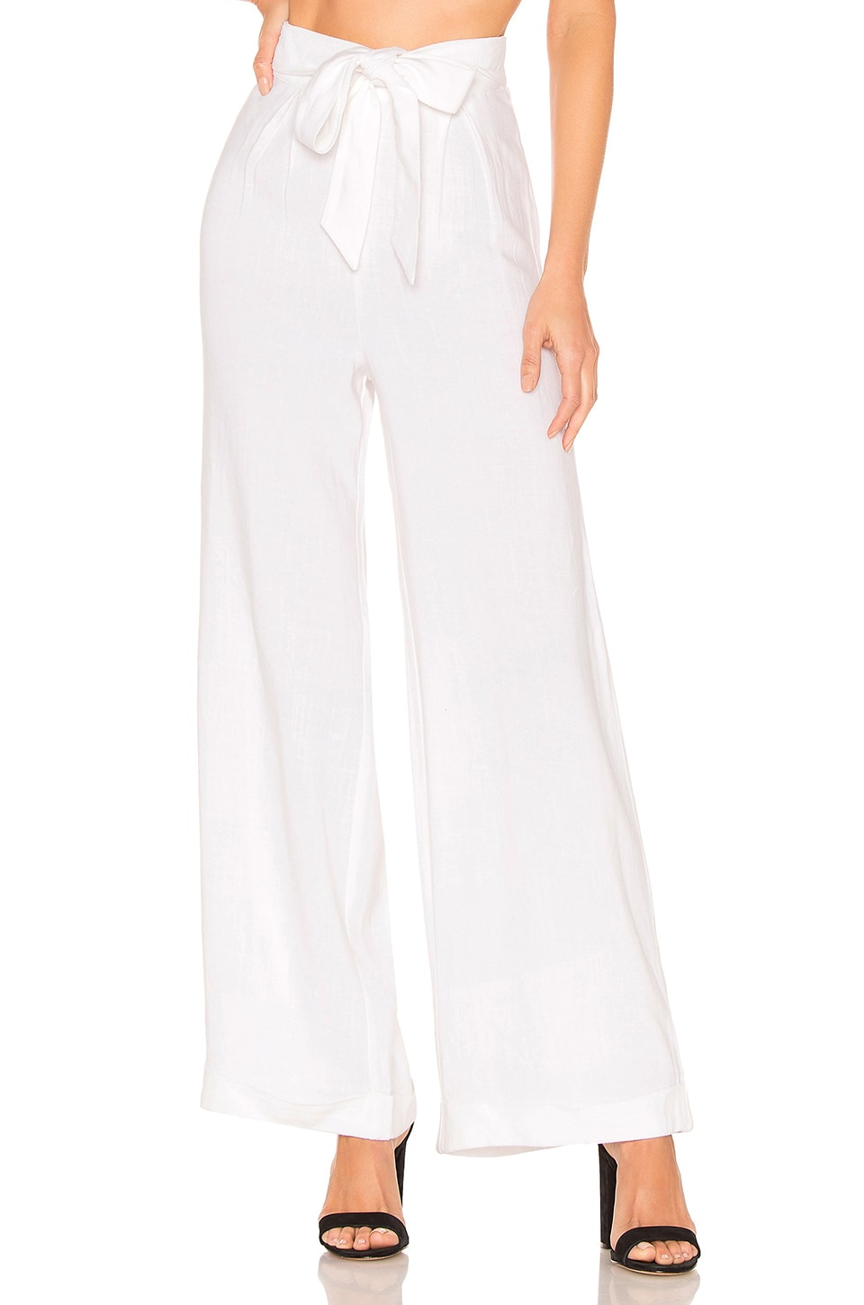 House of Harlow 1960 X REVOLVE Kiza Pant in Ivory