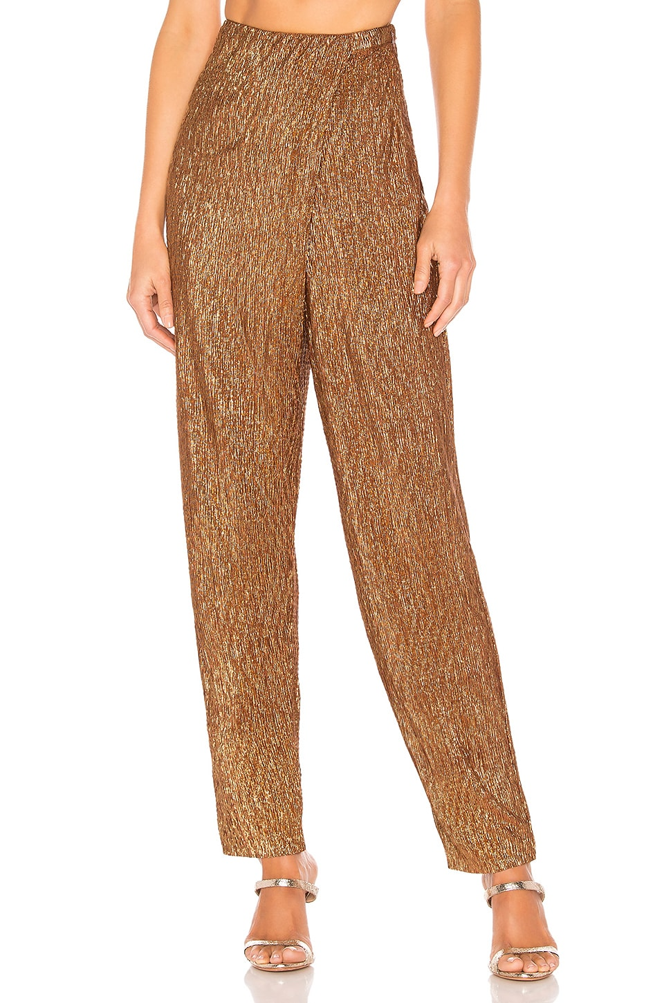 House of Harlow 1960 x REVOLVE Odel Pant in Bronze
