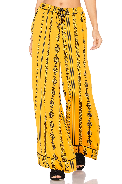 House of Harlow 1960 x REVOLVE Joni Pants in Inca Pajama Print