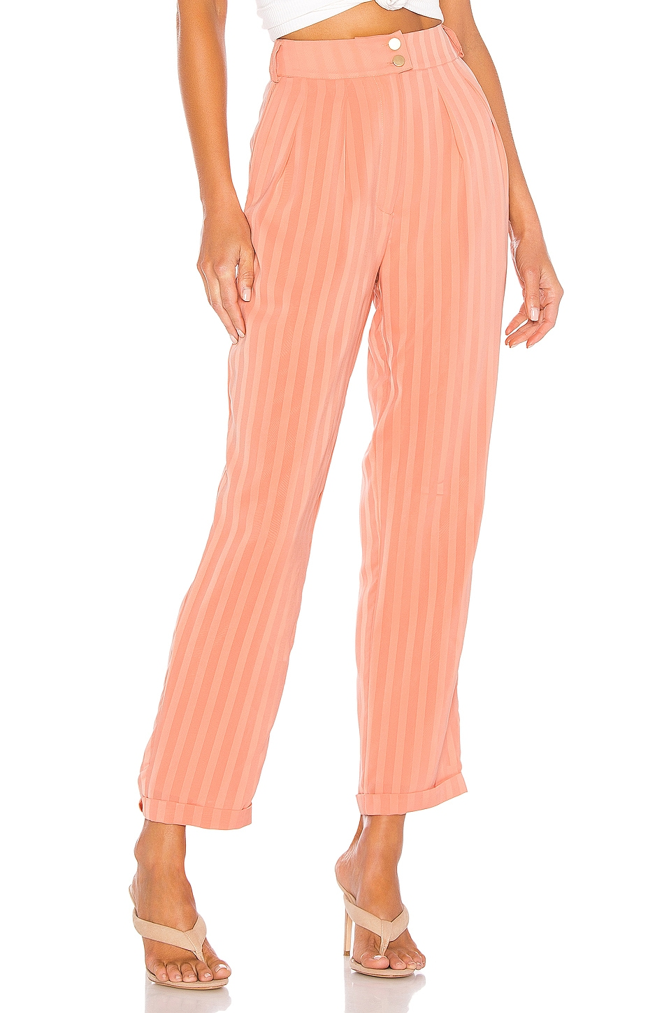 House of Harlow 1960 X REVOLVE Cisco Pant in Peach