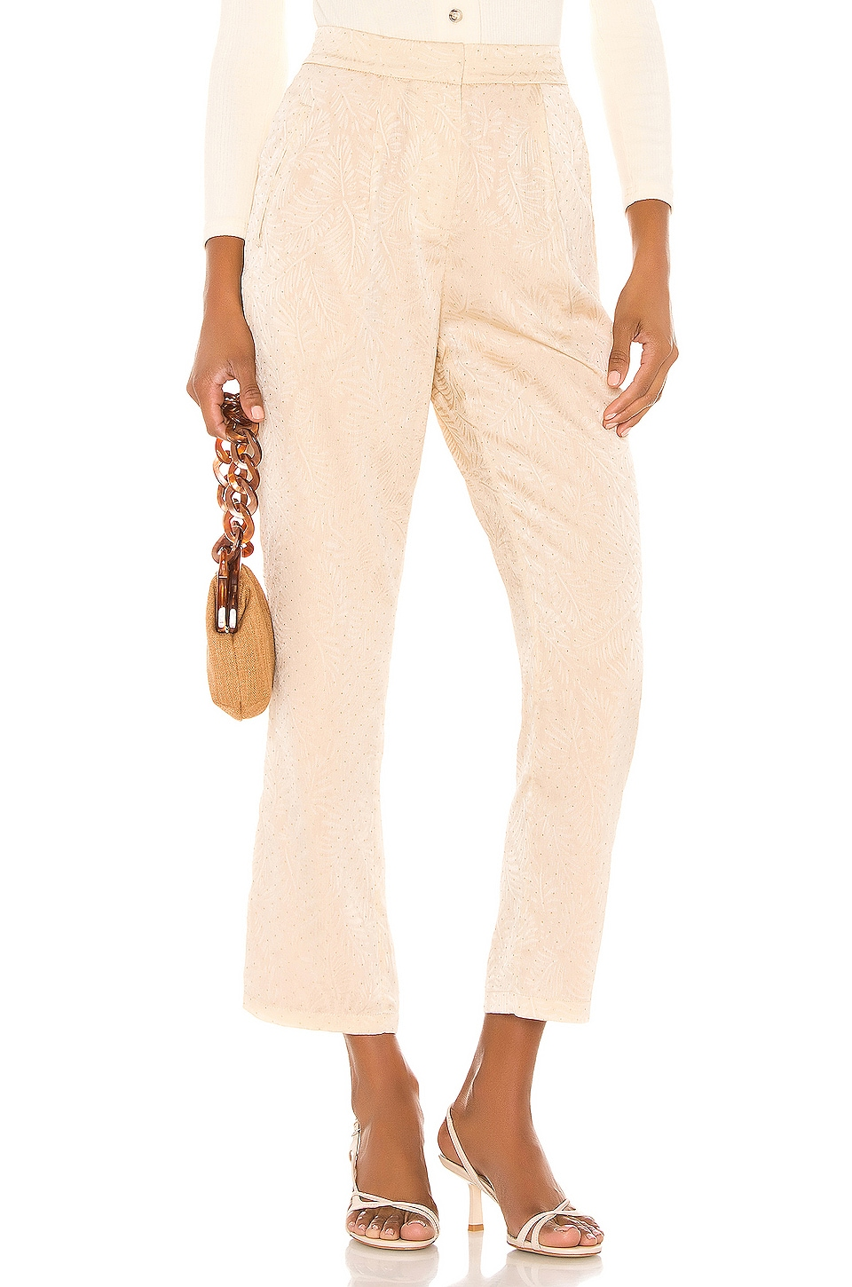 House of Harlow 1960 X REVOLVE Vincent Pant in Cream