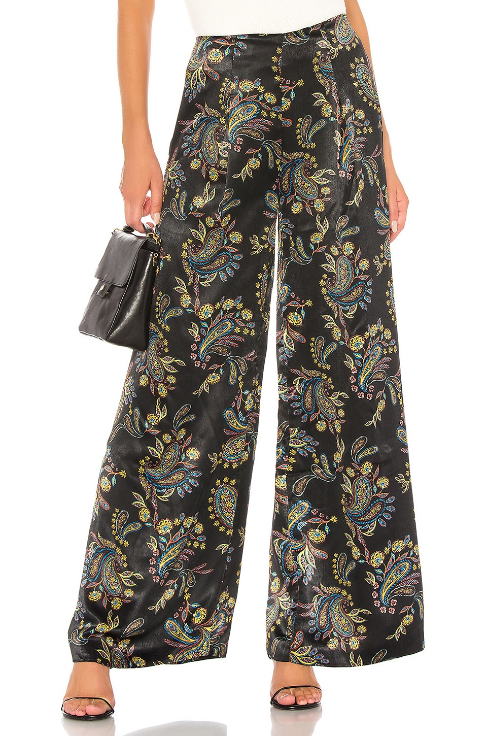 House of Harlow 1960 x REVOLVE Marko Pant in Noir Paisley Multi