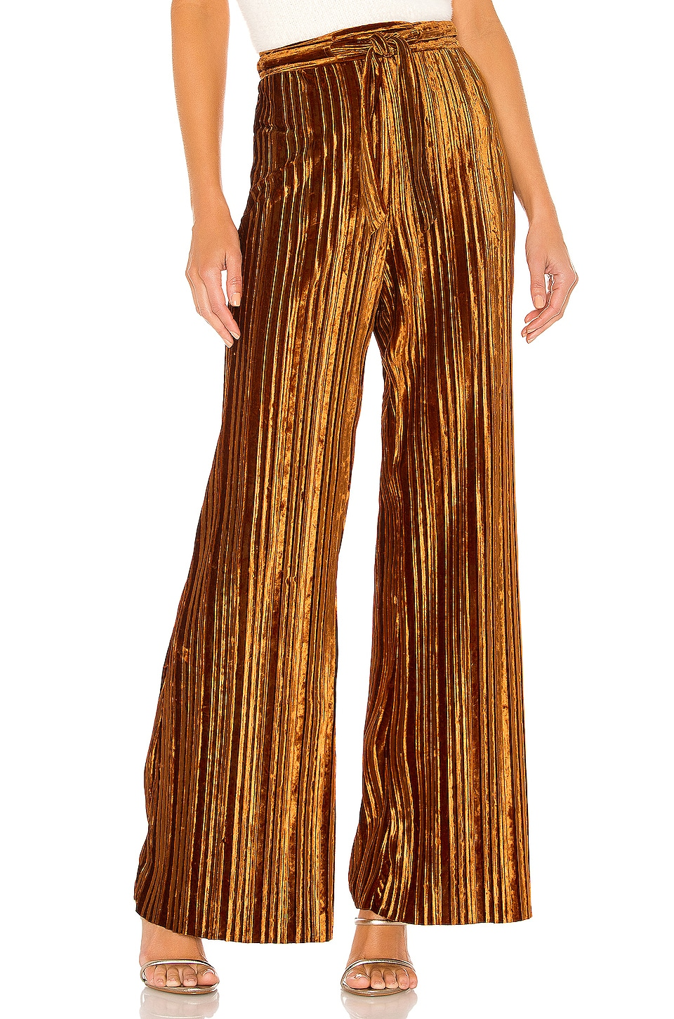 House of Harlow 1960 x REVOLVE Lucy Pant in Rust Red