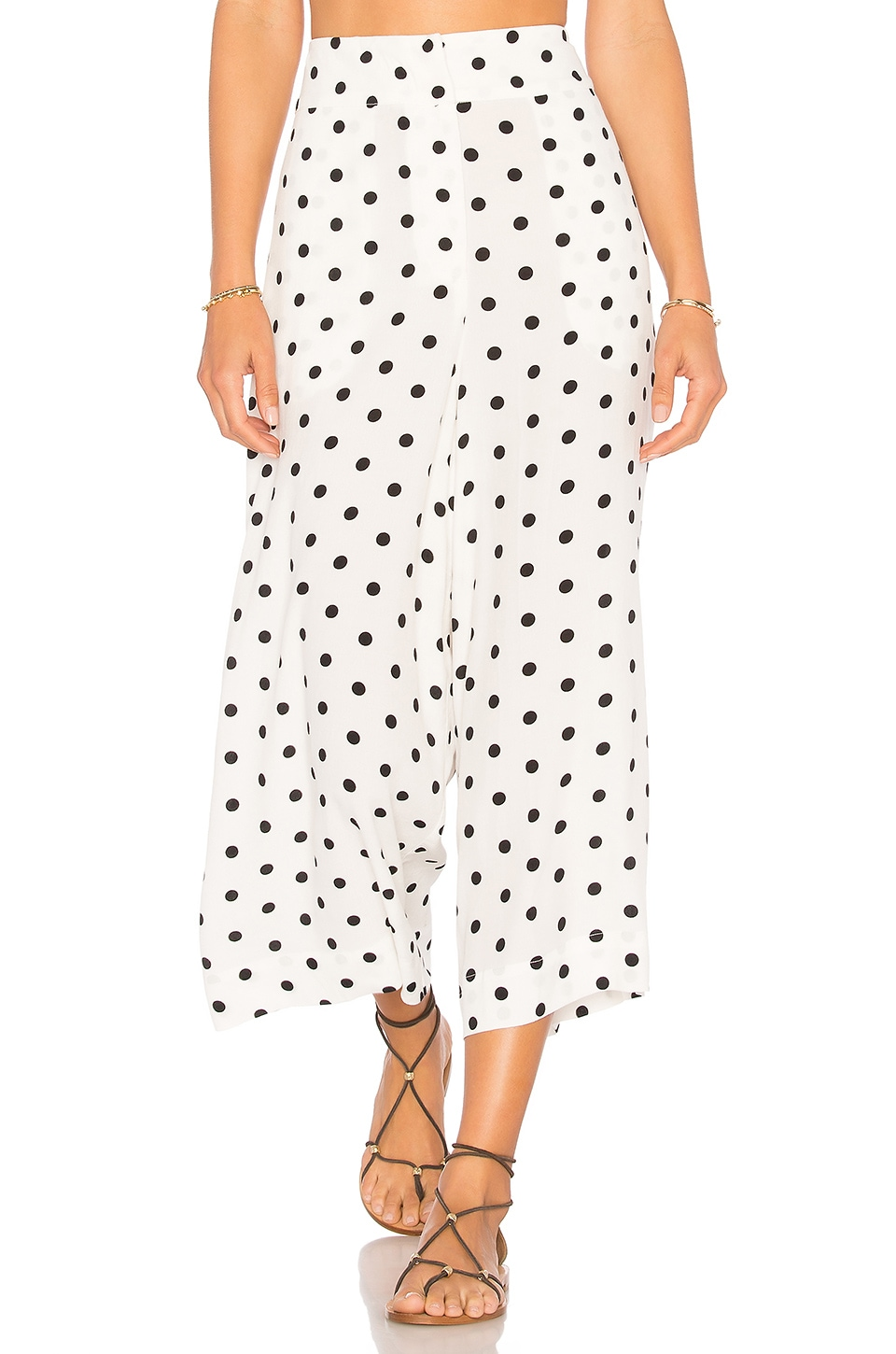 House of Harlow 1960 x REVOLVE Gwen Culotte in Pristine