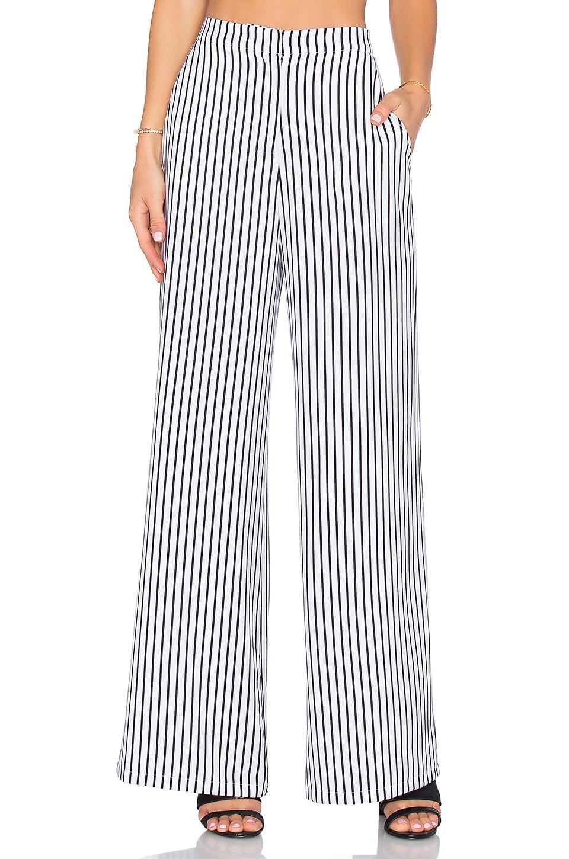 House of Harlow 1960 x REVOLVE Mona Pant in White & Black Stripe