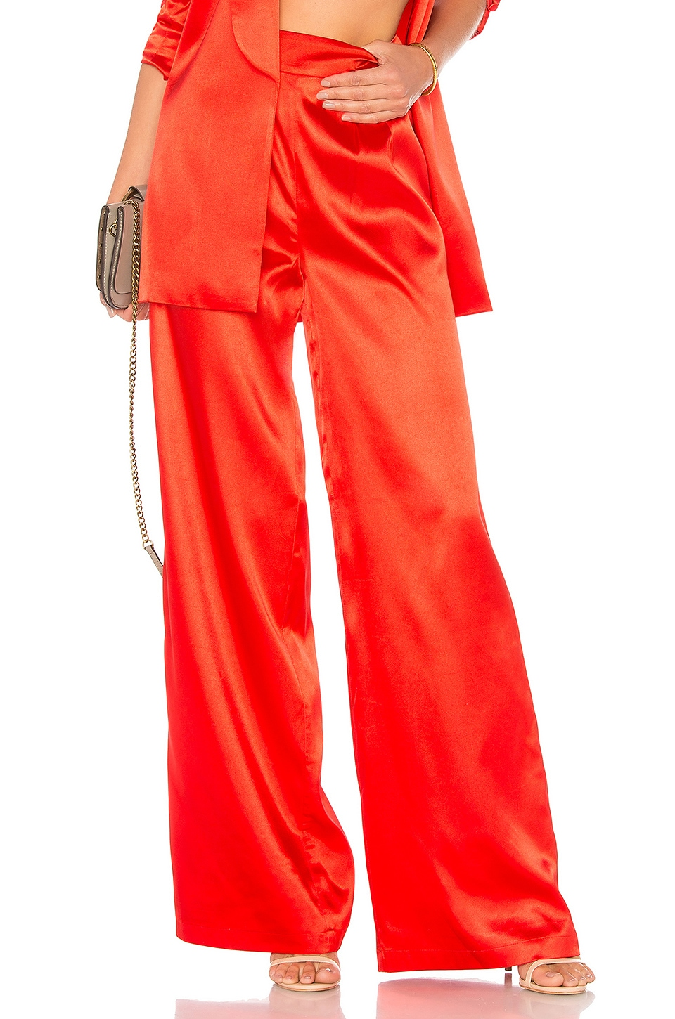 557fe0517aa5 House of Harlow 1960 x REVOLVE Charlie Wide Leg Pant in Racing Red ...