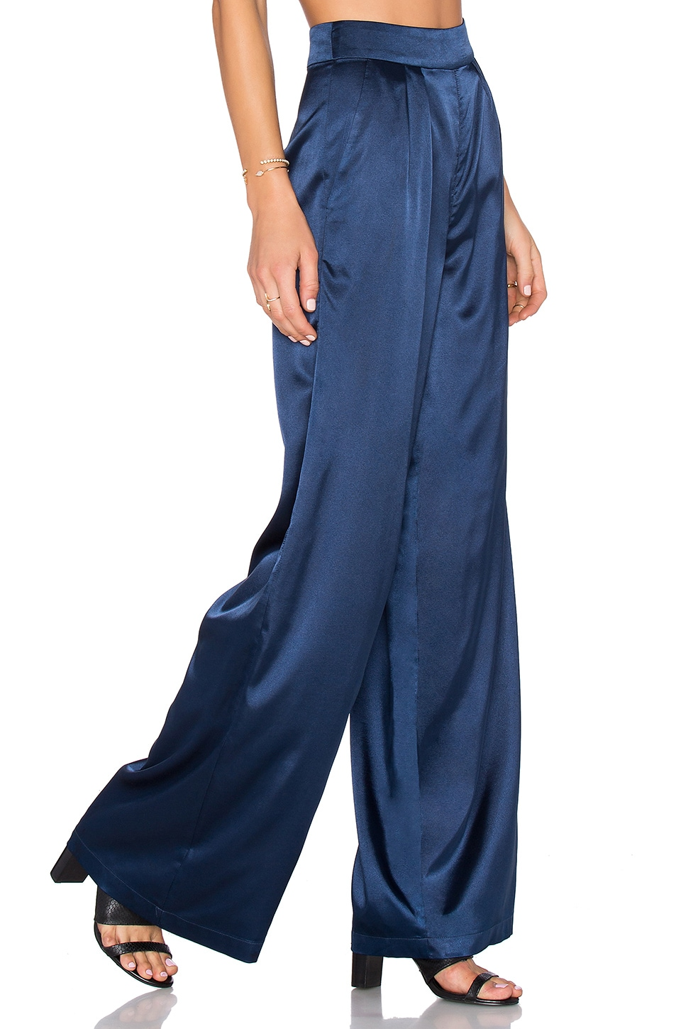 House of Harlow 1960 x REVOLVE Charlie Wide Leg Pant in Navy