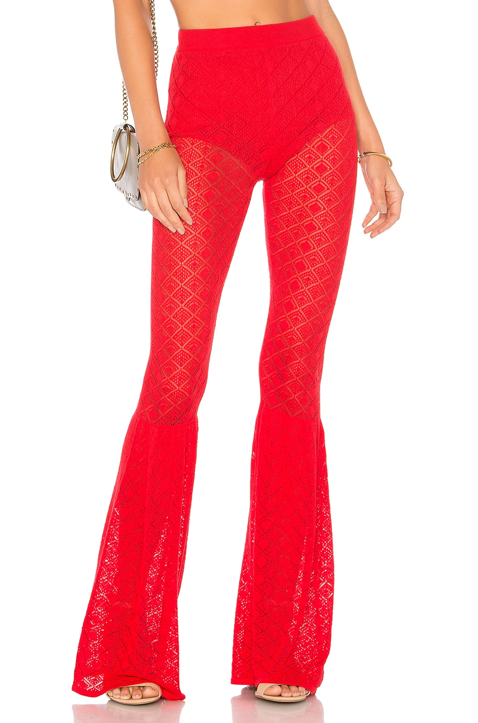 House of Harlow 1960 x REVOLVE Jeane Pant in Racing Red