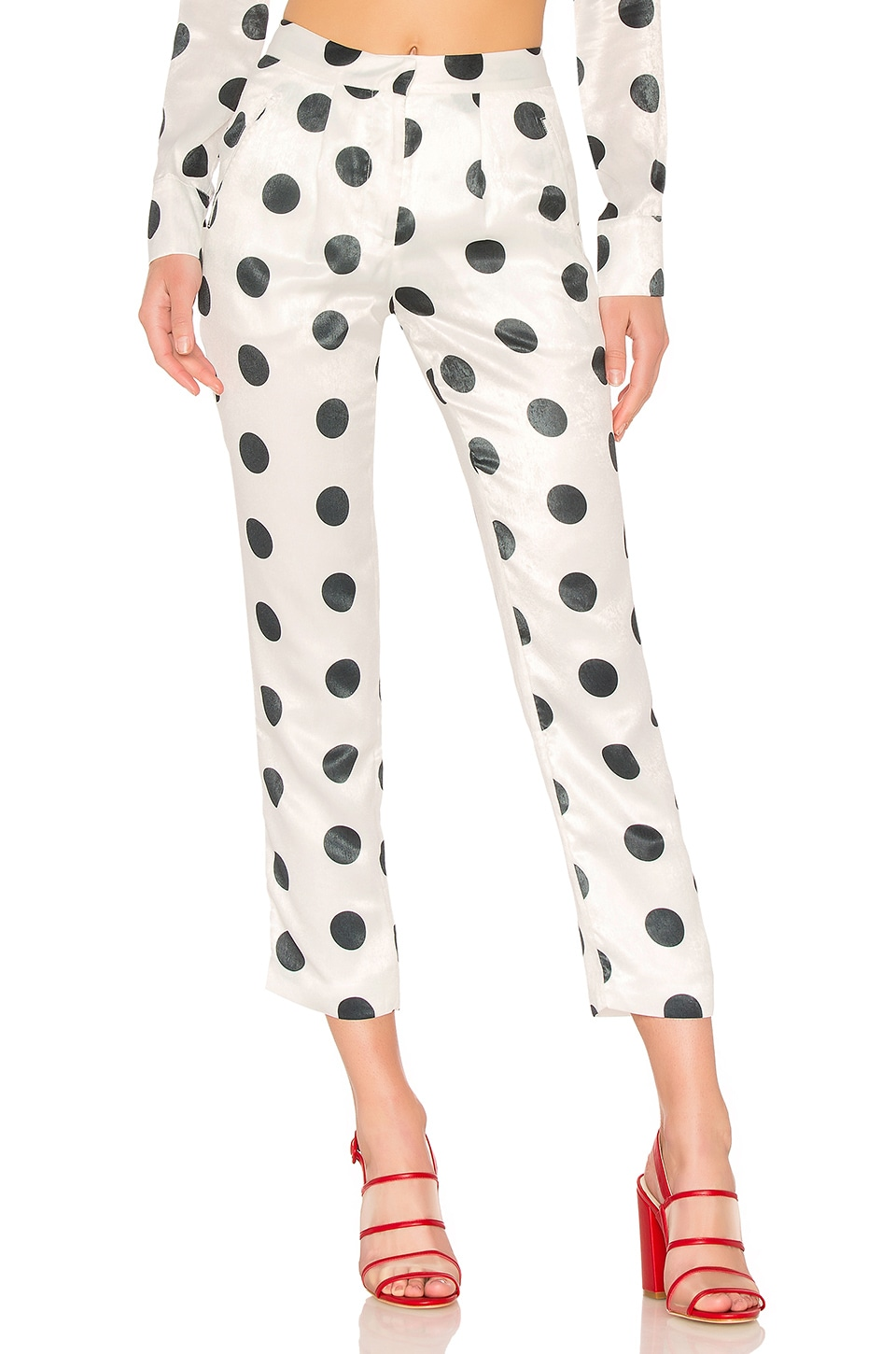 House of Harlow 1960 x REVOLVE Vincent Pant in Dot Print