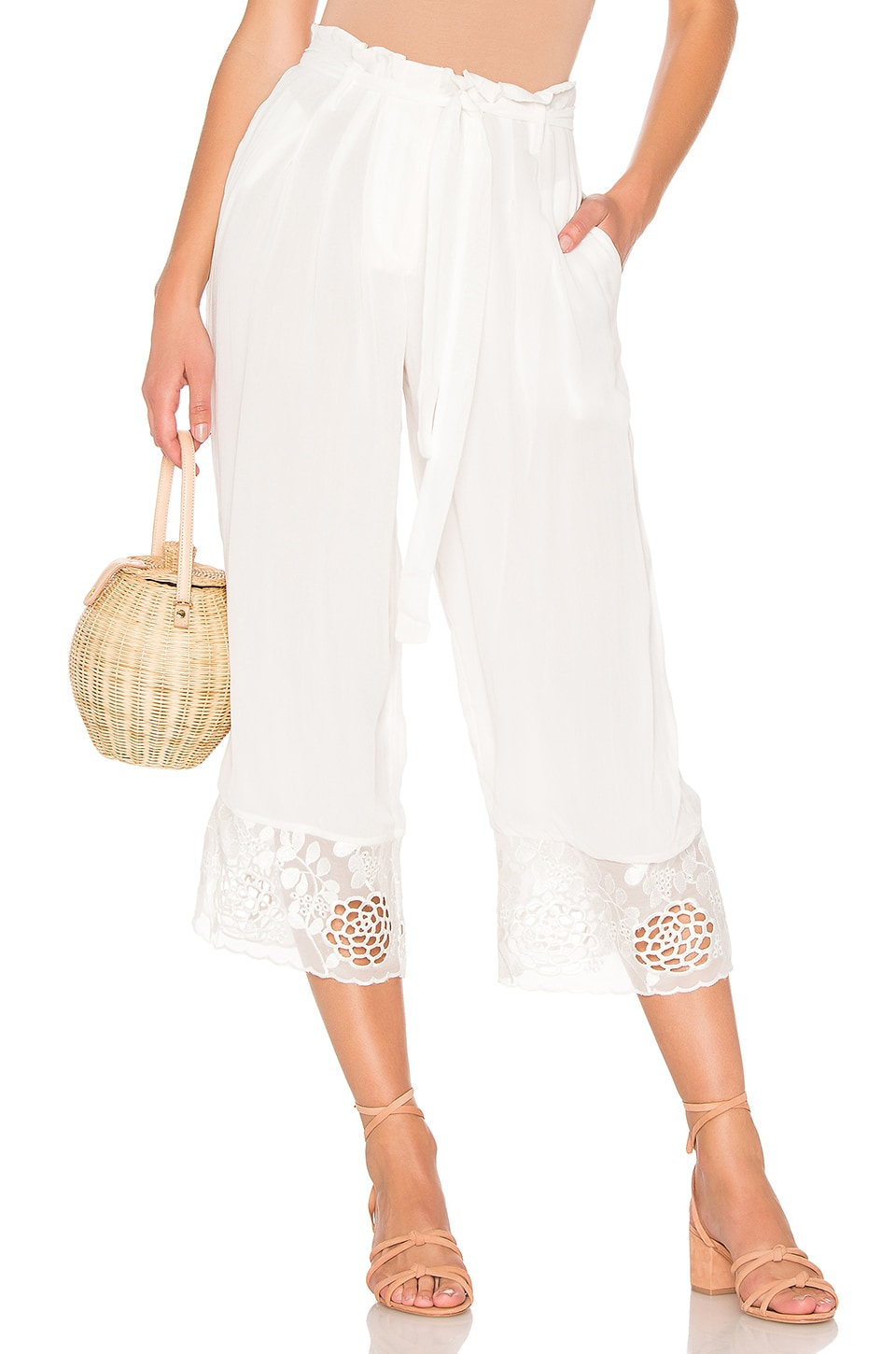 House of Harlow 1960 x REVOLVE Dewi Pant in Ivory