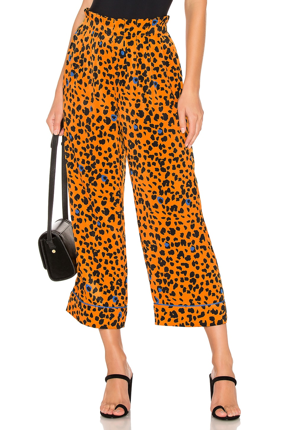 House of Harlow 1960 x REVOLVE Bonnie Pant in Copper Leopard
