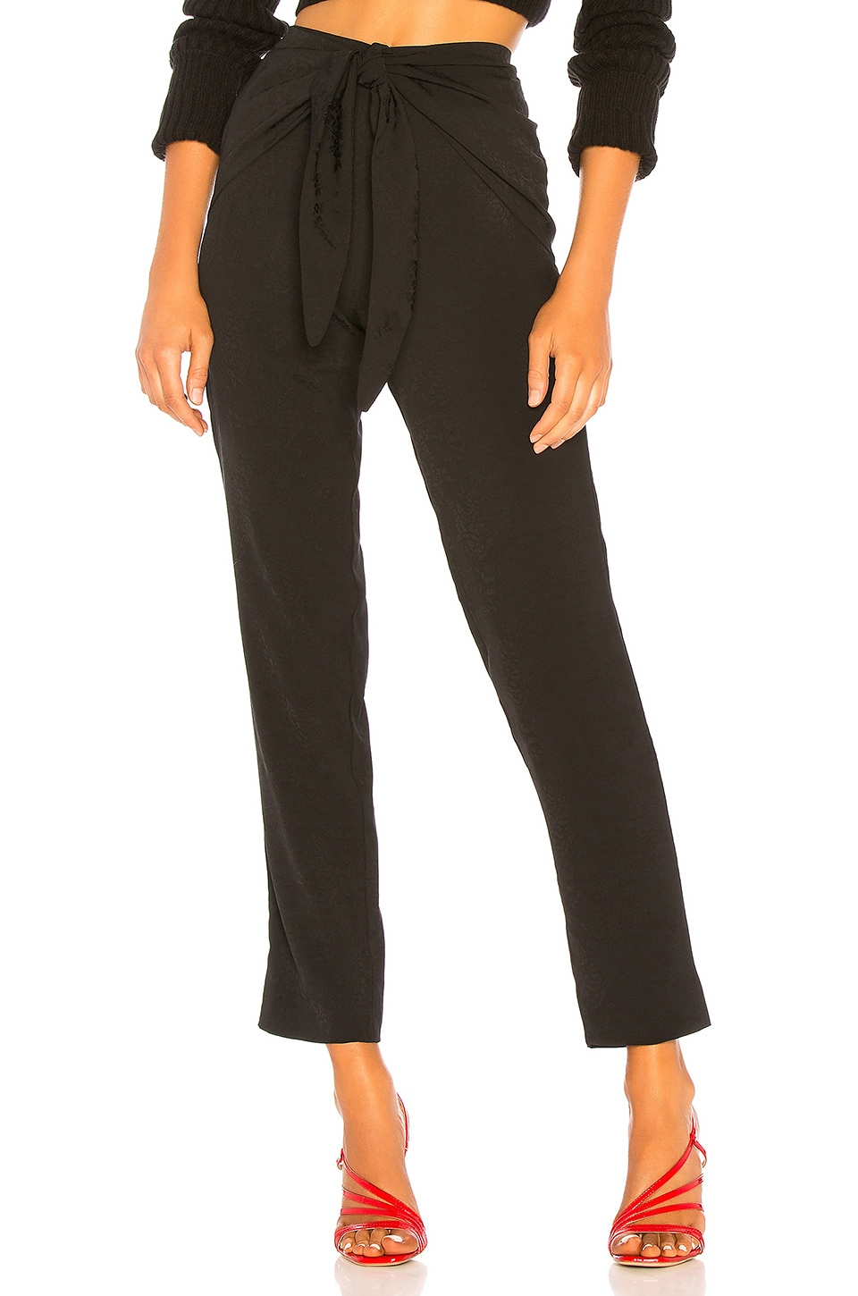 House of Harlow 1960 x REVOLVE Tabitha Pant in Noir