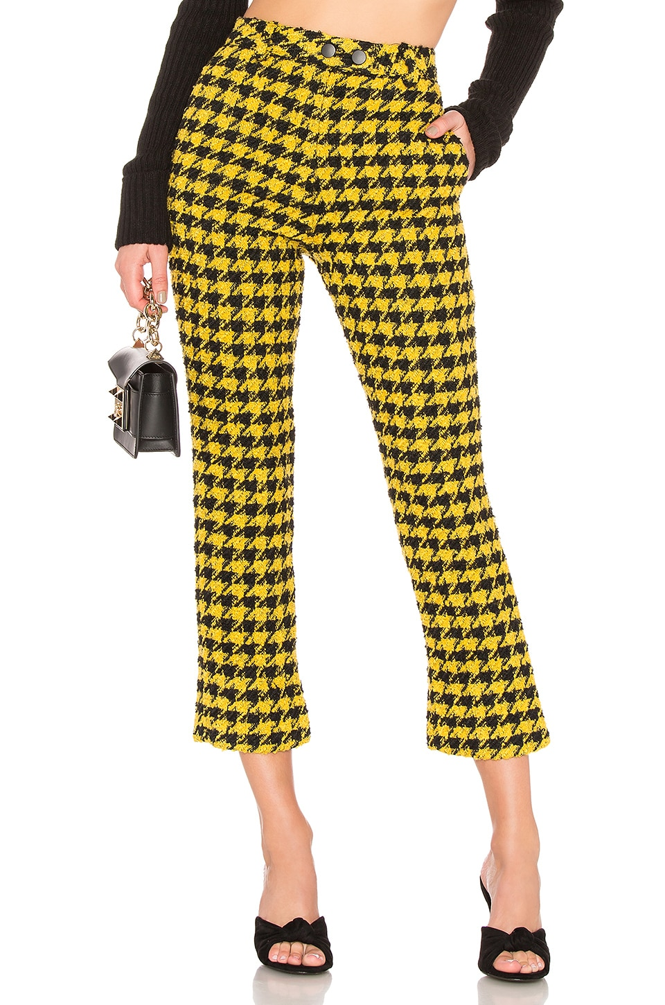 House of Harlow 1960 X REVOLVE Juni Pant in Yellow & Black