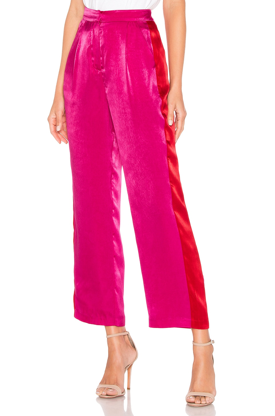 House of Harlow 1960 x REVOLVE Alessia Pant in Fuchsia