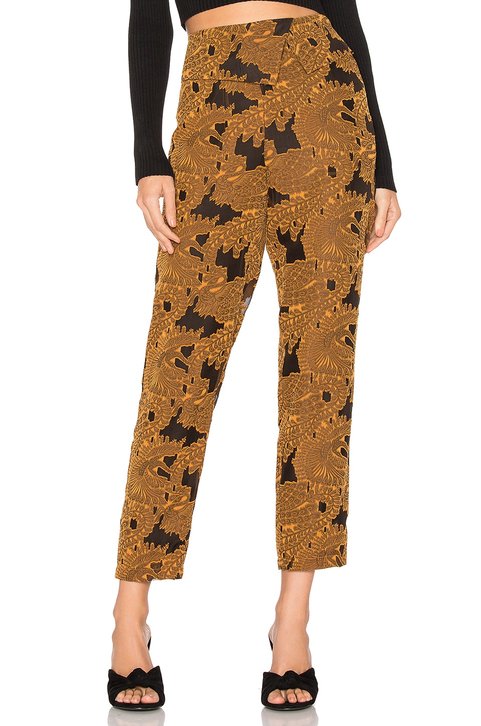 House of Harlow 1960 x REVOLVE Max Pant in Mustard