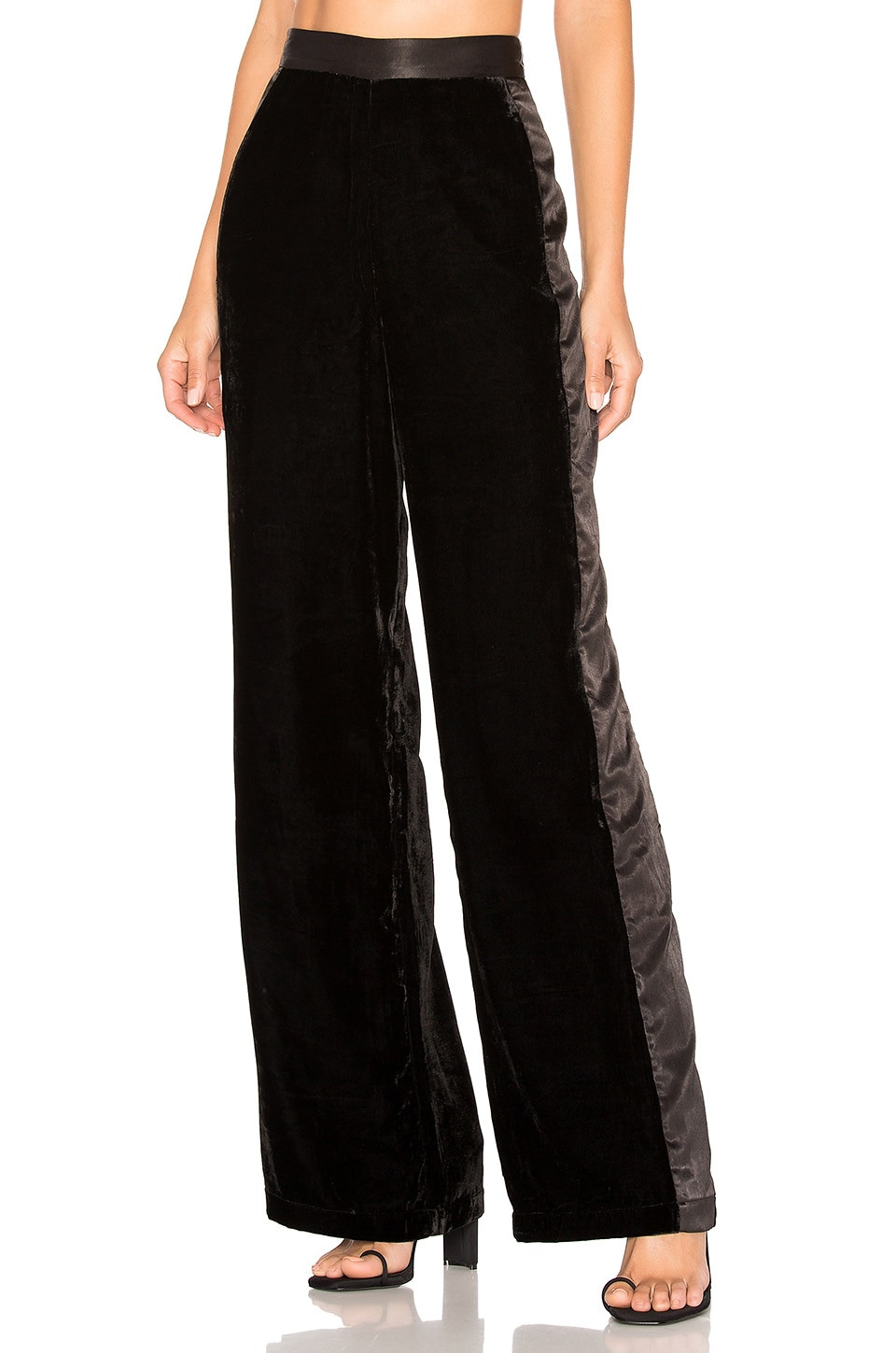 House of Harlow 1960 X REVOLVE Kyle Pants in Noir