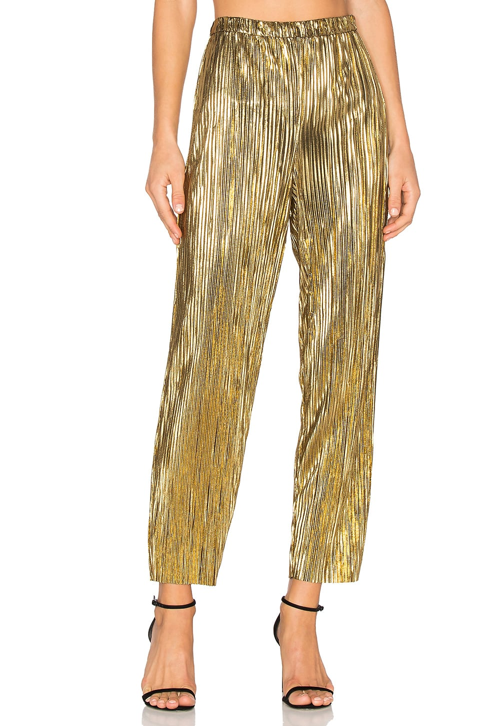 House of Harlow 1960 x REVOLVE Kate Pants in Gold