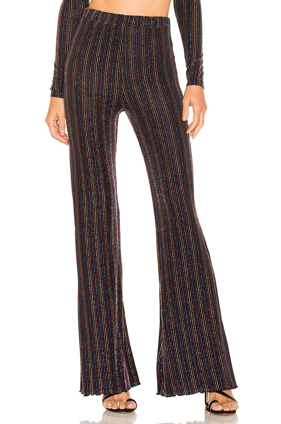 House of Harlow 1960 x REVOLVE Lora Pant in Noir