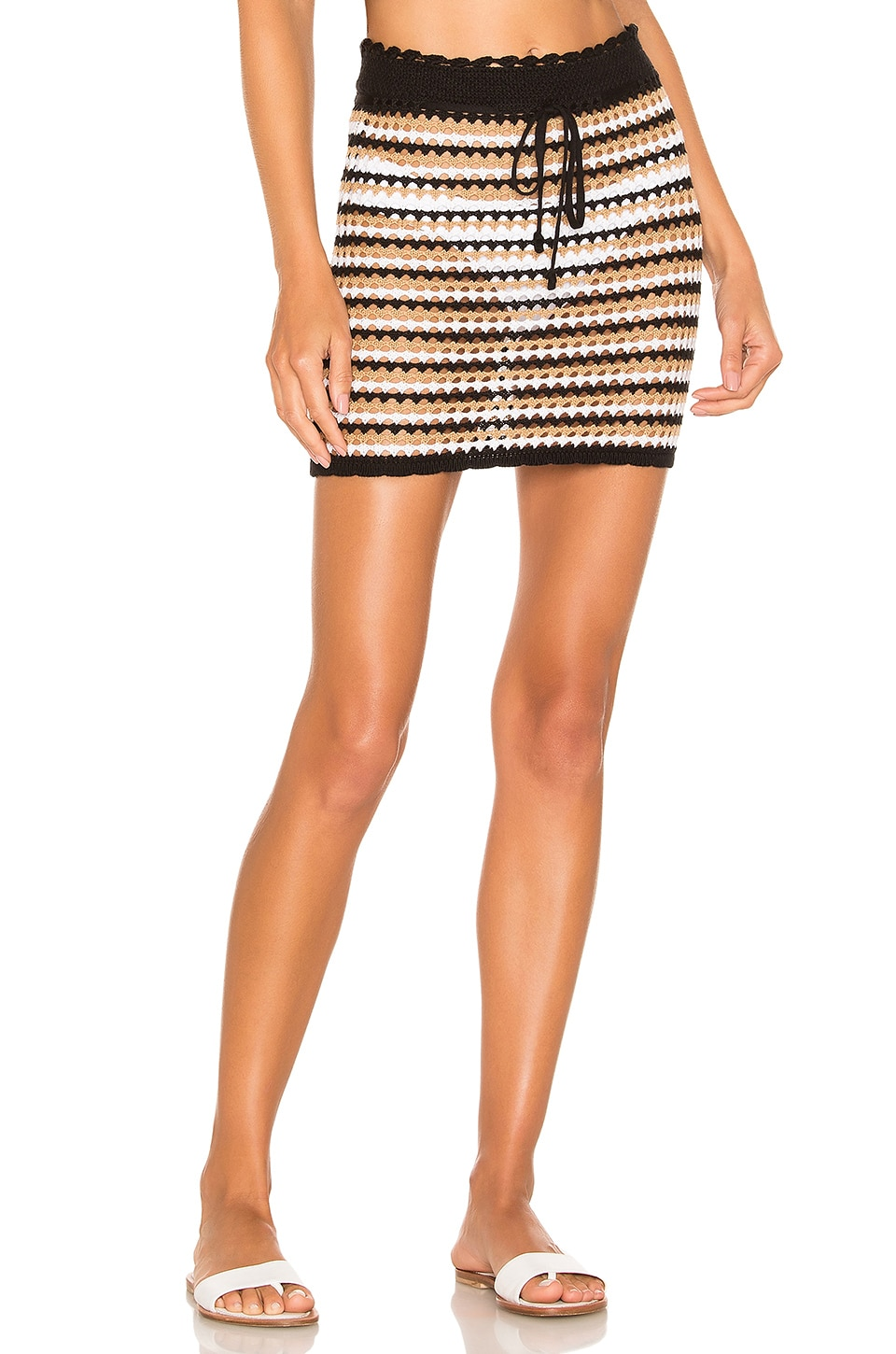 House of Harlow 1960 x REVOLVE Alhambra Skirt in Dunes Stripe