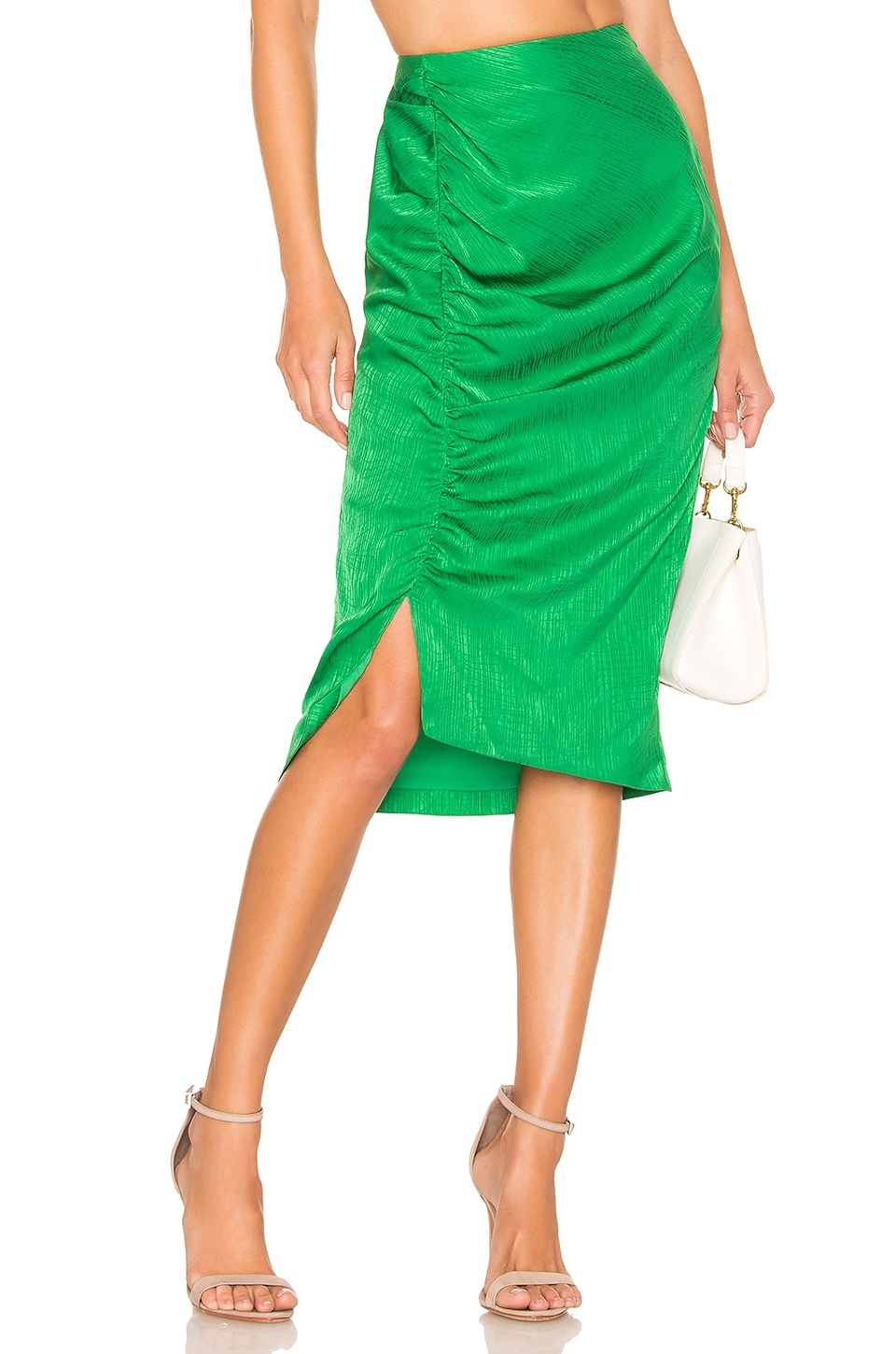 House of Harlow 1960 JUPE MIDI TAILLE HAUTE ROOS