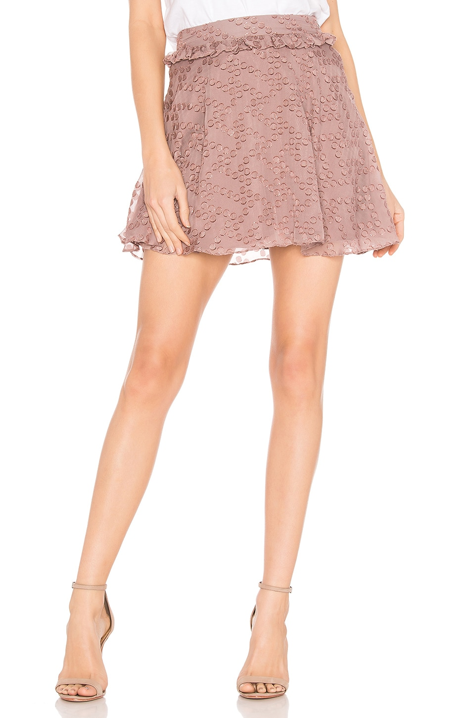 House of Harlow 1960 x REVOLVE Deni Skirt in Mauve Purple