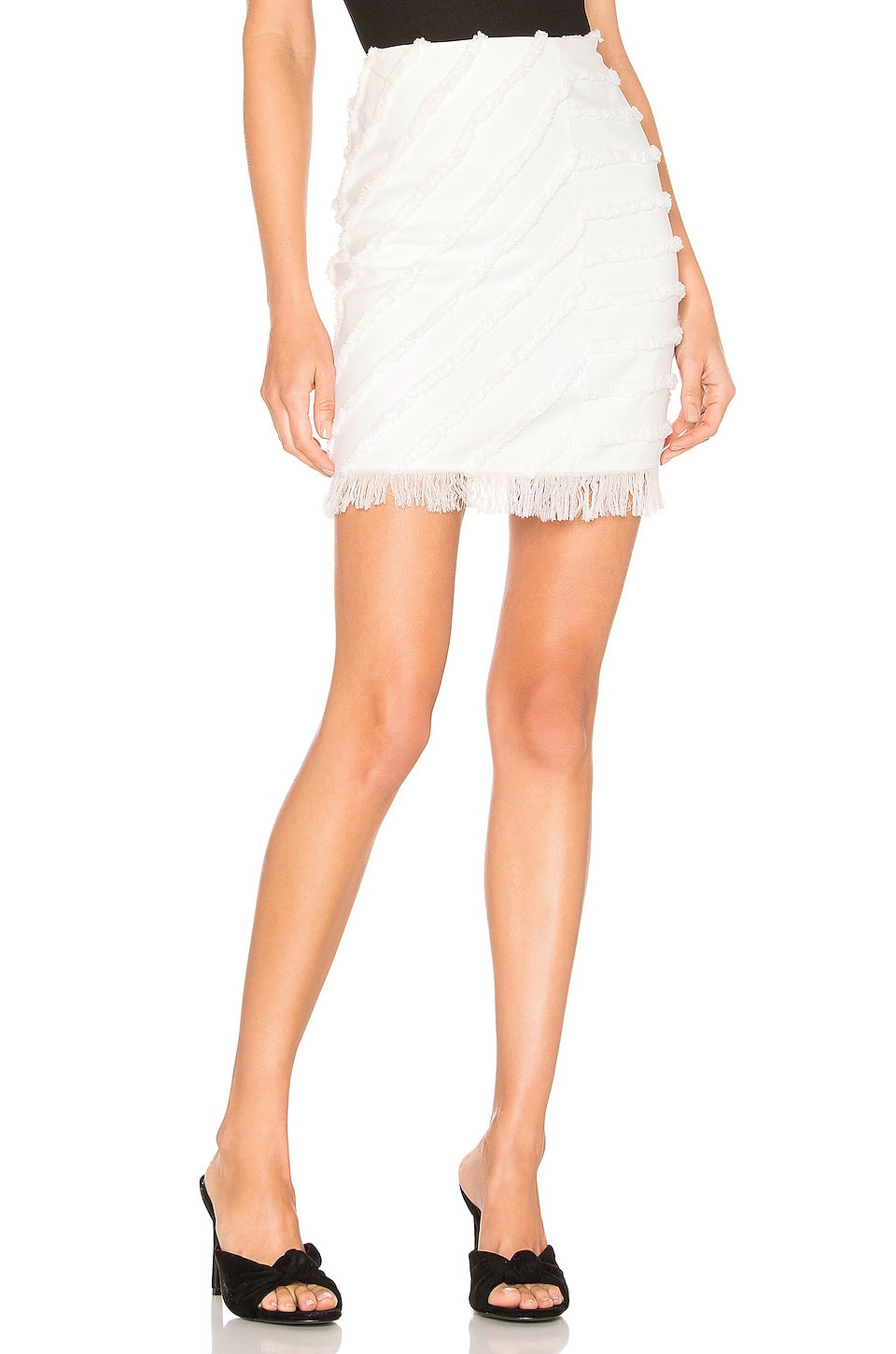 House of Harlow 1960 X REVOLVE Aimee Skirt in Ivory