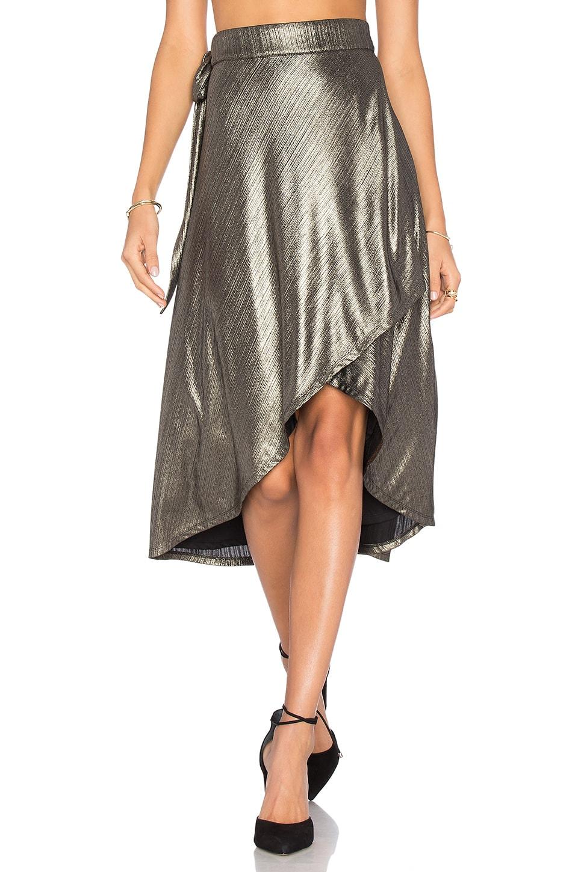 x REVOLVE Maya Wrap Skirt
