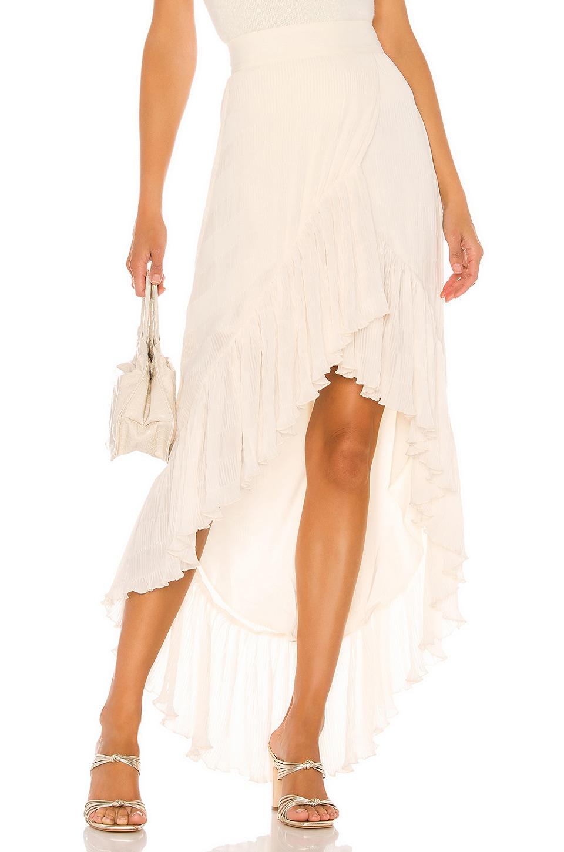 House of Harlow 1960 X REVOLVE Adalina Skirt in Ivory
