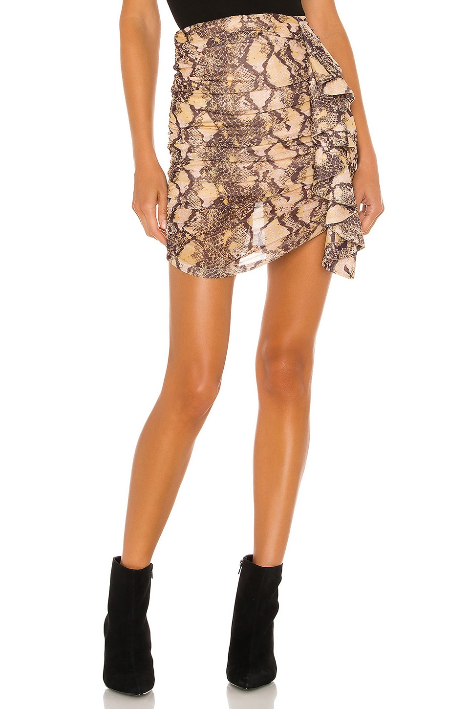 House of Harlow 1960 x REVOLVE Gemma Mini Skirt in Python Multi