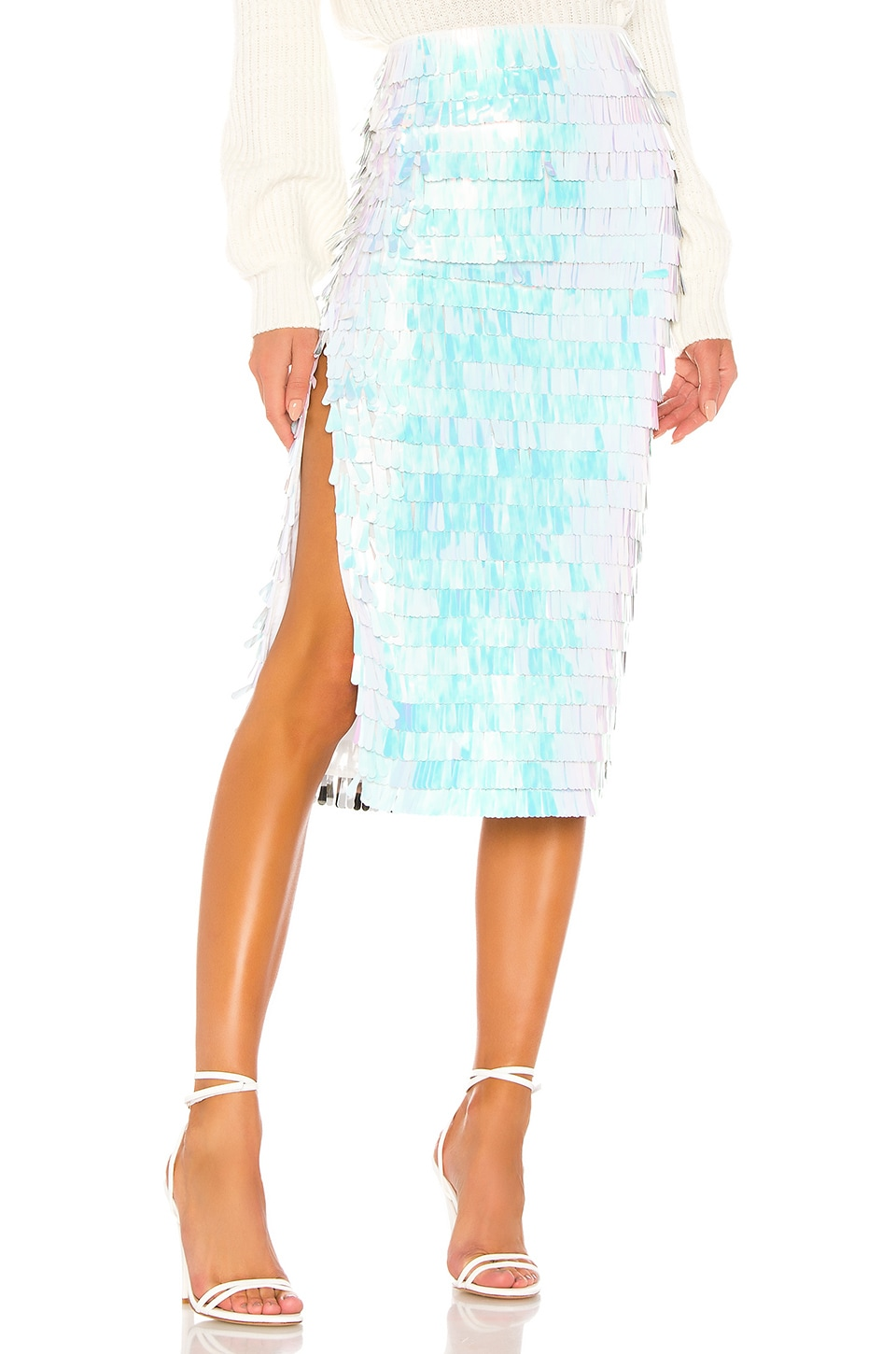 House of Harlow 1960 x REVOLVE Niven Skirt in White