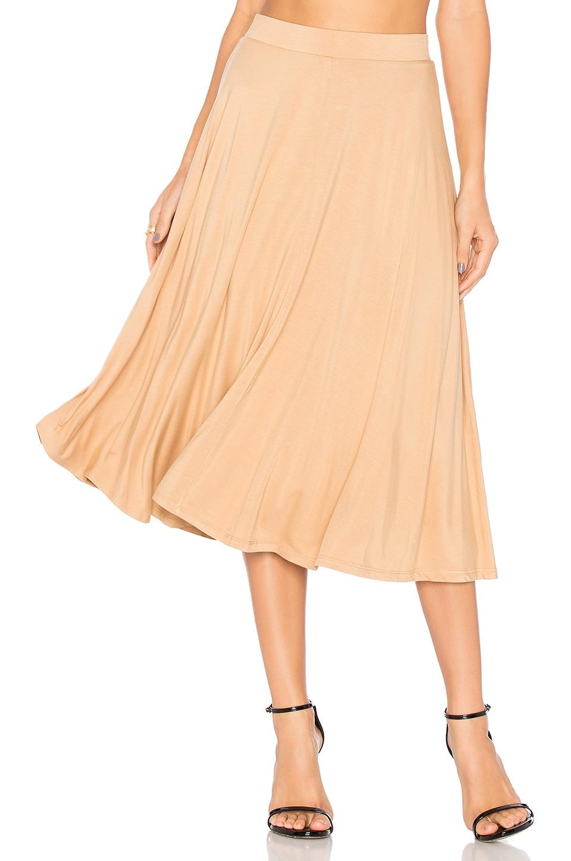 House of Harlow 1960 x REVOLVE Brooke Midi Skirt in Almond