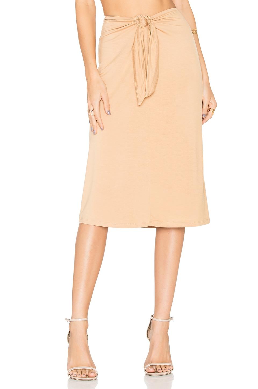House of Harlow 1960 x REVOLVE Tina Midi Skirt in Almond
